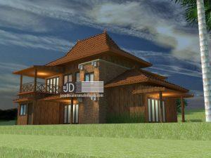design rumah jawa