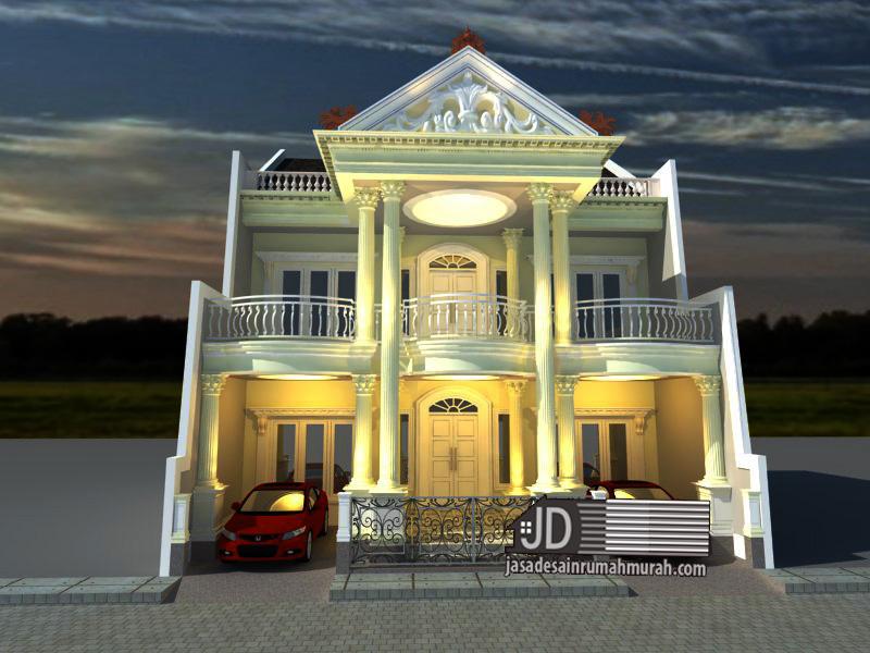 jasa desain rumah eropa klasik