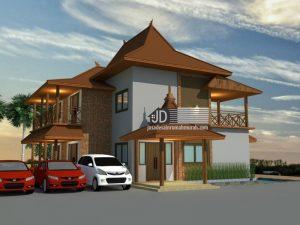 jasa desain rumah jawa