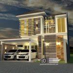 Desain rumah Bapak Chiqni Rinaldi di Bekasi