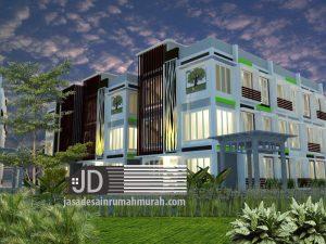 Jasa Desain Rumah Kos Mewah Bapak Erzon Djazai di Bogor