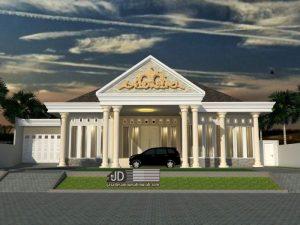 Desain rumah klasik Bapak Rahmatullah di Aceh