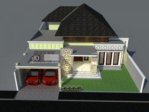 Jasa Arsitek Rumah Bali Tropis