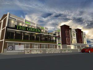 Desain Rumah Kos mewah Bapak Erzon di Bogor