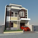 Desain Rumah Bapak Alwi di Jakarta