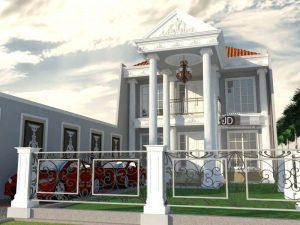 Desain Rumah Bapak Yudi Purnanugraha Di Palembang