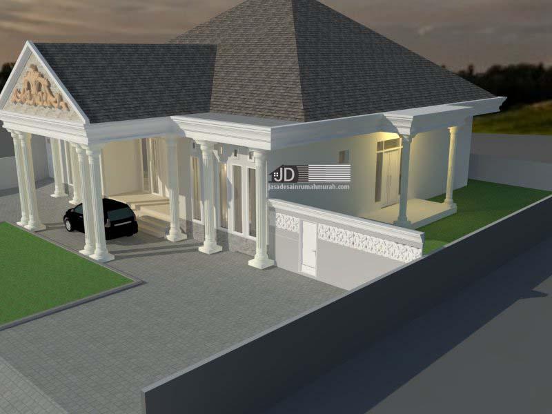 jasa desain rumah & Desain Rumah Klasik di Aceh - Bapak Rahmatullah - Jasa Desain ...