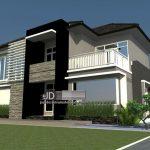 Desain rumah Bapak Agus di Kendari