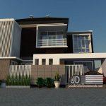 Desain Rumah Bapak Balius Fernandez di Jakarta