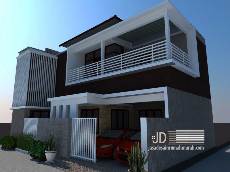 jasa desain rumah modern