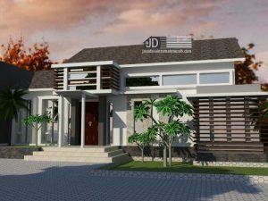 Desain Rumah Bapak Ahmad Farihin di Tangerang