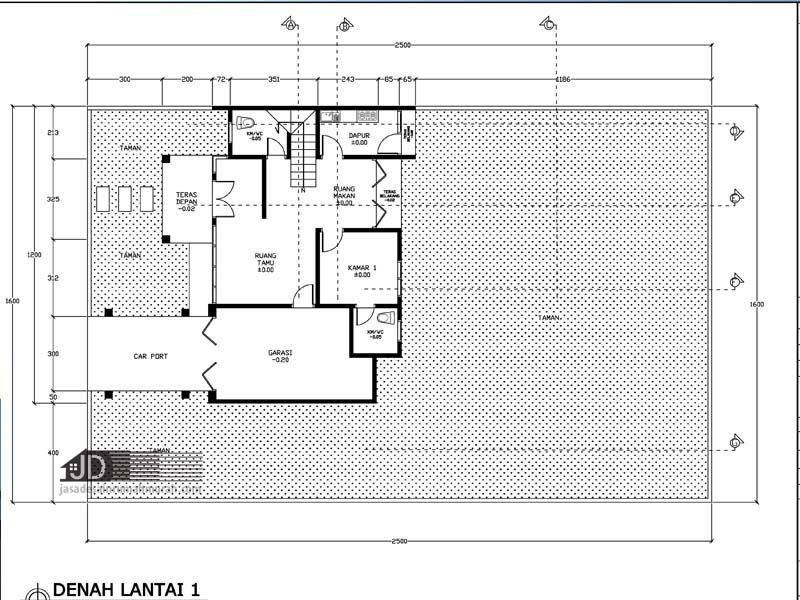 jasa desain rumah mewah elegant