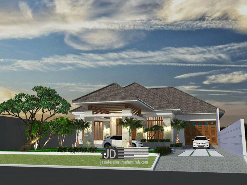 Jasa aarsitek rumah Bali Modern