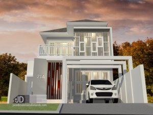 Desain Rumah Bapak Hendra Di Jakarta
