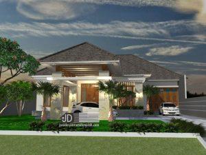 Jasa Desain Rumah Bali Modern Dr Triyo Sugeng di Tumpang Malang