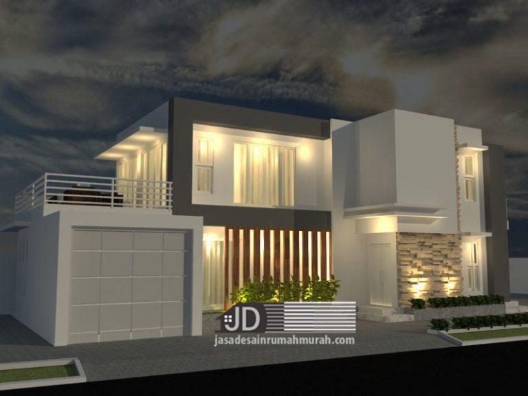 Jasa Desain Rumah Modern Kontemporer Mewah Ibu Nurfadilah ...