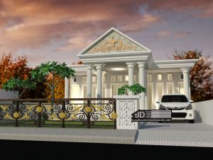 Jasa Desain Rumah Bapak Widodo Di Mojokerto