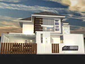 Desain Rumah Bapak Ibnu Alfarobi Di Jakarta