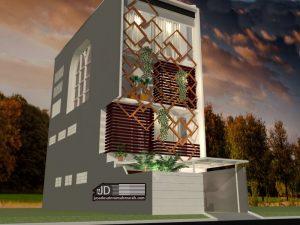 Desain Rumah Bapak Charles Hutapea Di Jakarta