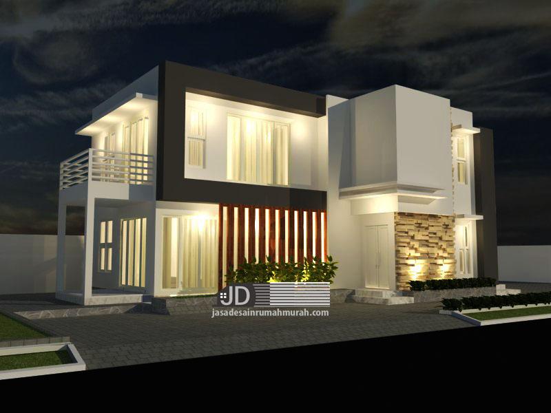 jasa desain rumah modern kontemporer