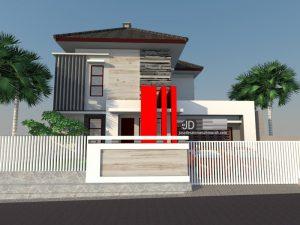 Jasa Desain Rumah Bapak Edi Kartiono di Sepinggan Balik Papan