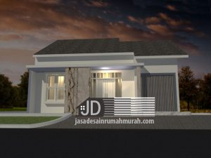 Desain Rumah Sederhana Bapak Nelson di Jakarta