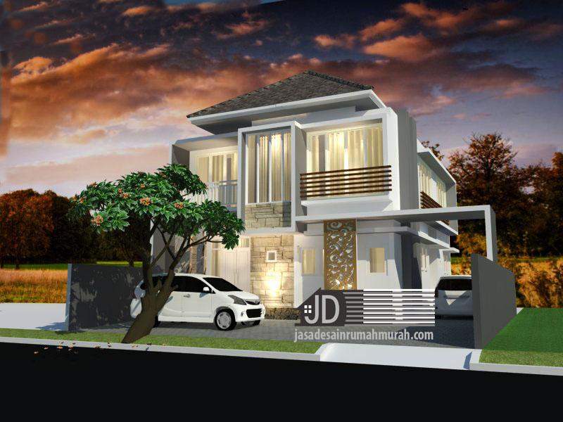 jasa desain rumah modern mewah
