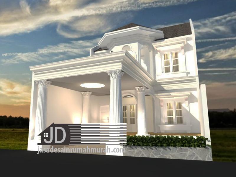 desain rumah eropa klasik