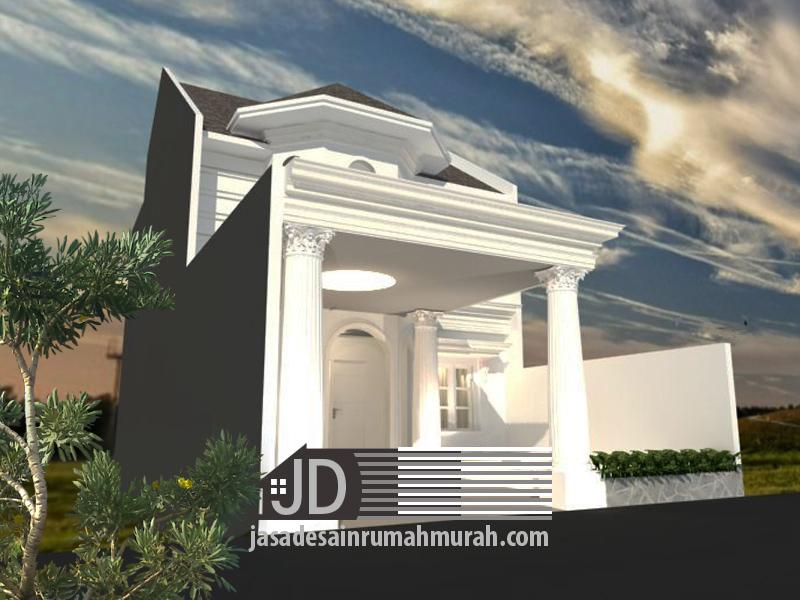 desain rumah klasik mewah