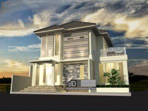 Jasa Desain Rumah Bapak Roby di Toraja, request desain rumah mirip rumah Bapak Farhan di Jakarta