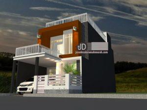 Desain Rumah Bapak Banu Di Jakarta
