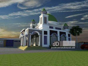 Jasa Desain Masjid Bapak Pandi Di Temanggung Jawa Tengah