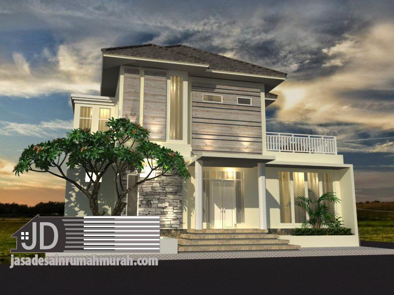 jasa arsitek rumah modern tropis mewah