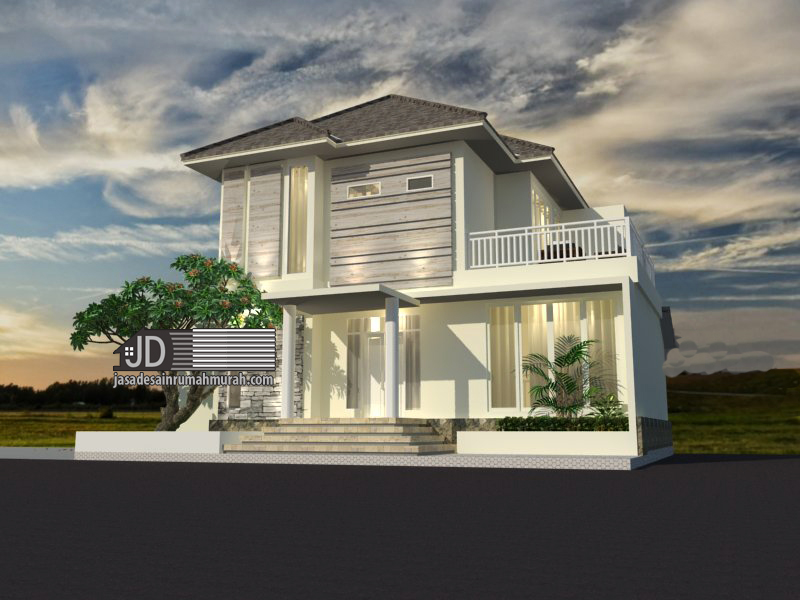 jasa arsitek rumah modern tropis mewah 2