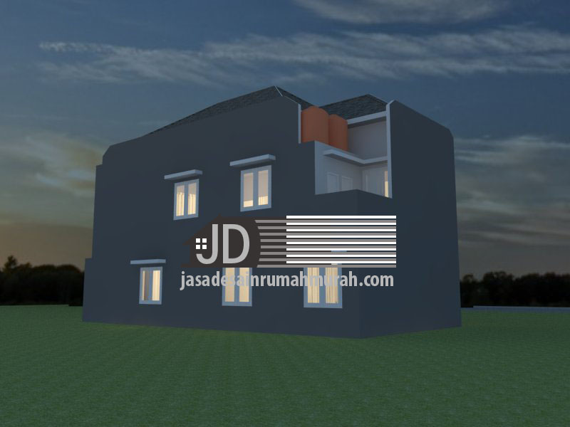 desain rumah kos