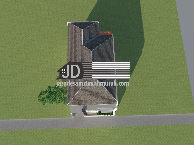 desain rumah kos minimalis