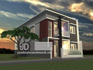 Jasa desain rumah kos Bapak Syarif Hidayat di Sukabumi (order kedua)
