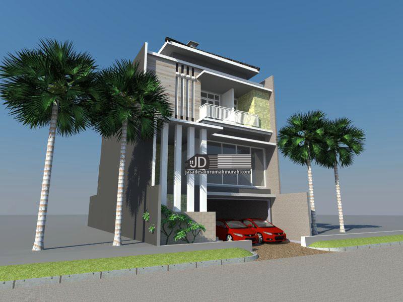 desain rumah mewah