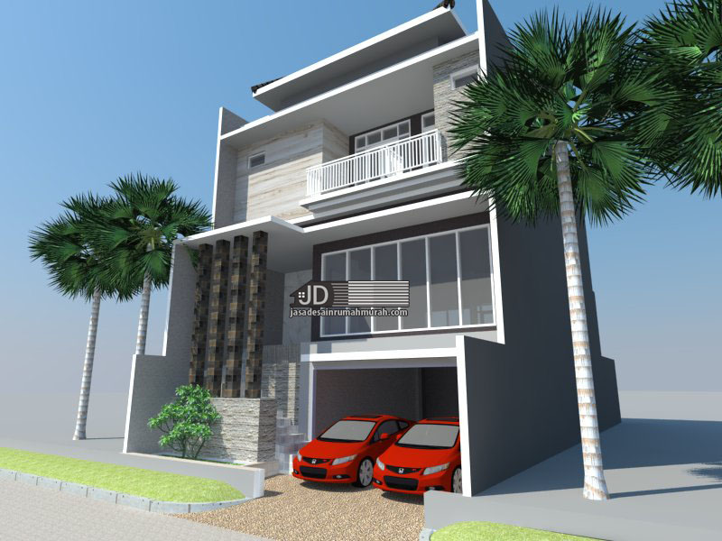 desain rumah mewah modern