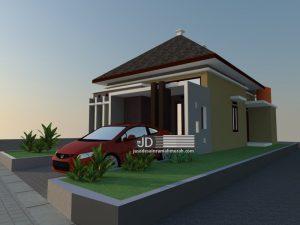 Jasa Desain Rumah Minimalis Sederhana Bapak Dadan Daryono di Subang Jawa Barat