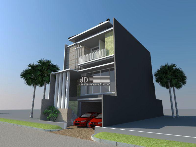 desain rumah modern mewah elegant