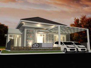 Jasa Desain Rumah Minimalis 1 Lantai Bapak Manaham Manik Di Sorong Papua