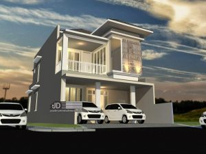Jasa Desain Rumah Bapak Jaka Harman Di Bandar Lampung
