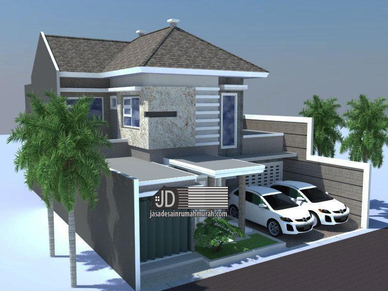 desain rumah modern