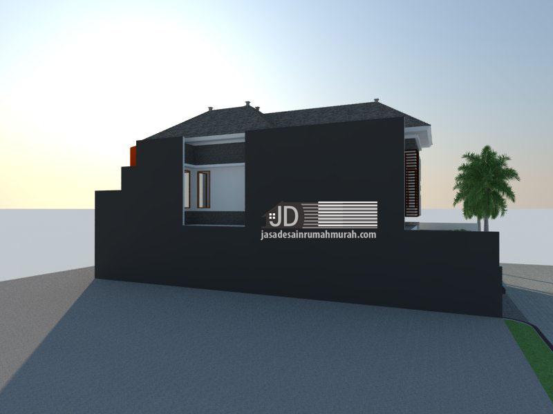 desain rumah modern elegant 2