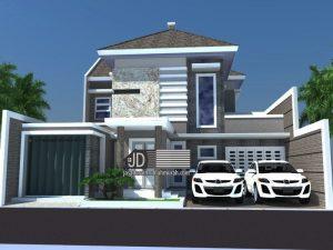 Desain Rumah Bapak Abdul Ghani Di Jakarta .