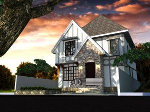 Jasa Desain Rumah Farm House Style Ibu Wenda Di Makasar