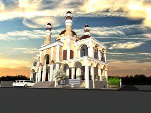 Jasa Desain Masjid Baiturrahman, Bapak Muhammad Ali Di Jakarta