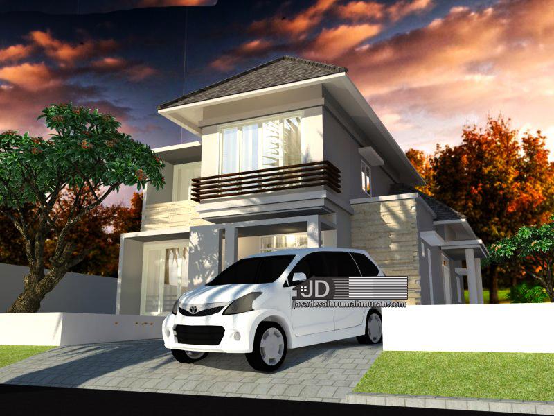design rumah modern tropis