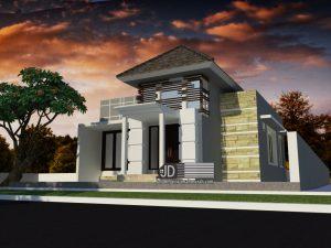 Desain Rumah Ibu Meilina Sulistyowati di Manokwari Papua